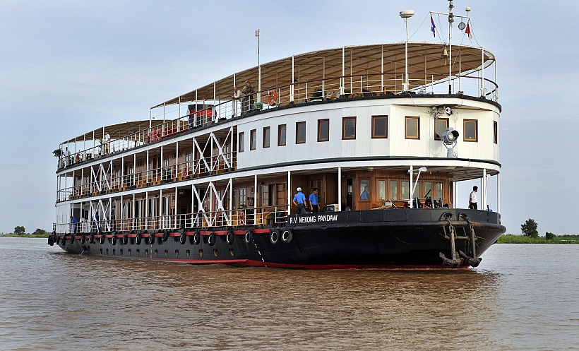 4 days Phnom Penh - Siem Riep on Pandaw Cruise