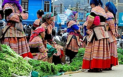 Sapa meet the Local by bus