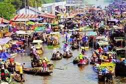Mekong Escape with Cai Be Princess Sampan