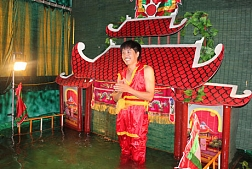 Experience Water Puppet Show at Artist Private House
