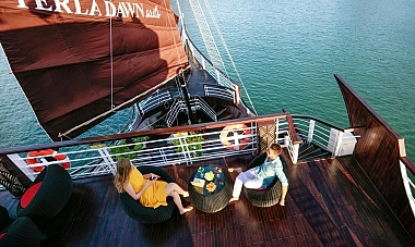 Experience Lan Ha Bay with Perla Dawn Sails