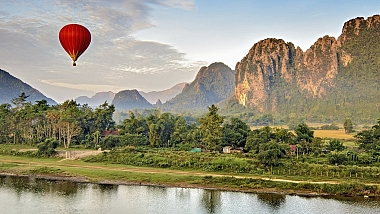 Travelling in Laos