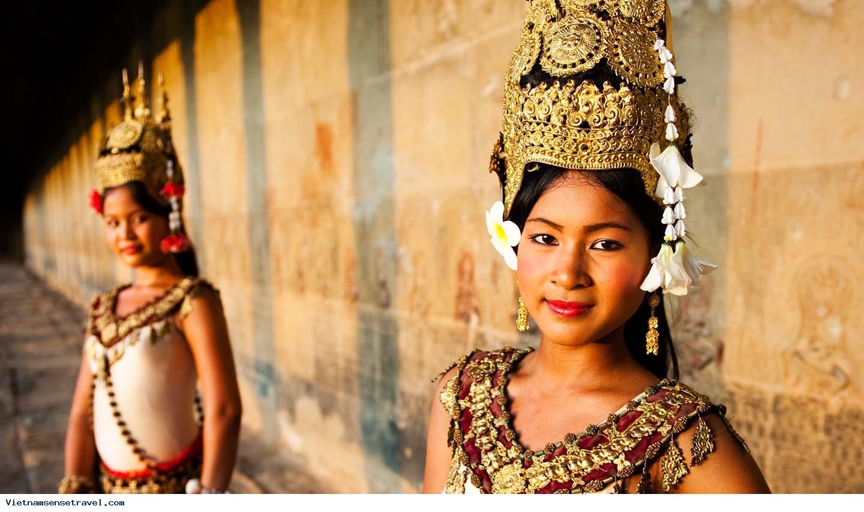 Cambodia Highlights, Indochina tours, Angkor wat