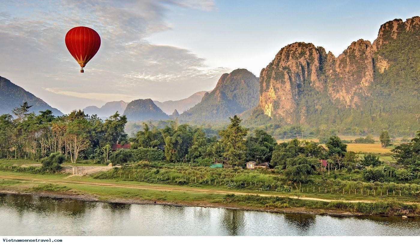 6 days Travelling in Laos, Indochina tour, Vietnam - Laos - Cambodia